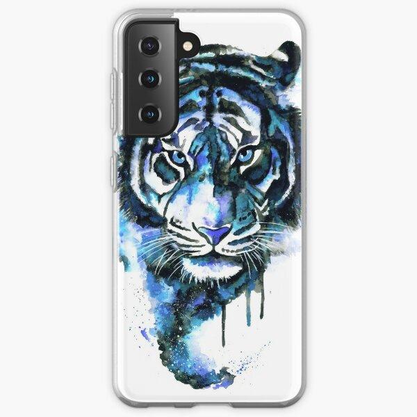 Blue Tiger Samsung Galaxy Soft Case