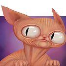 Sphynx Cat by SessaV
