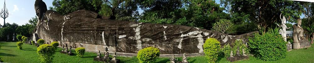 The Garden of Buddhas by Russell Riepsamen