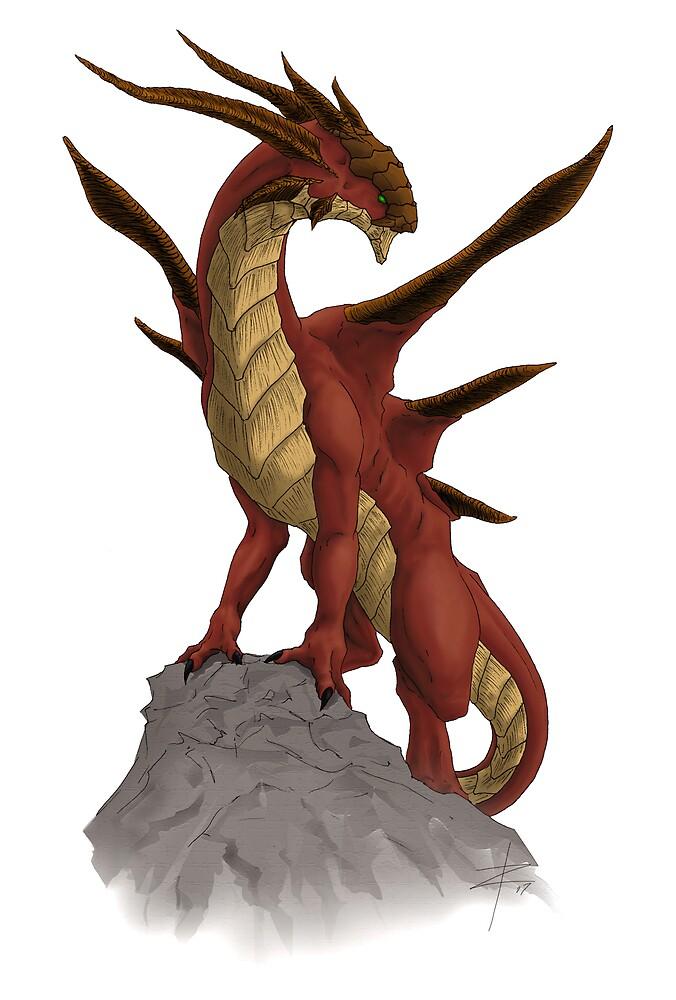 Chaos Dragon  by wyvex