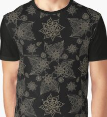 Gilded Roses Graphic T-Shirt