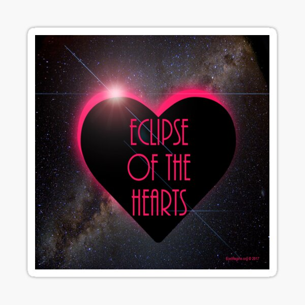 Eclipse Of The Hearts Sticker
