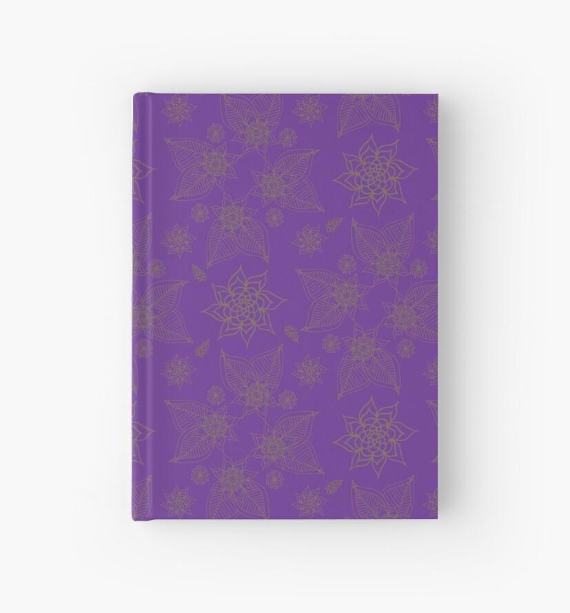 Gilded Roses Pure Violet by Kristin Omdahl