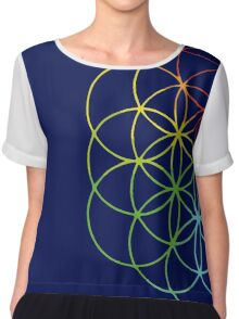 Flower of life Chiffon Top