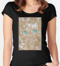 Crumpled Women's Fitted Scoop T-Shirt