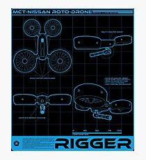 Shadowrun - Rigger Shirt (Version 3) Photographic Print