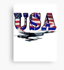 US Air Force Thunderbirds Canvas Print