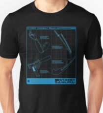 Shadowrun - Street Samurai Shirt (Version 3) Unisex T-Shirt