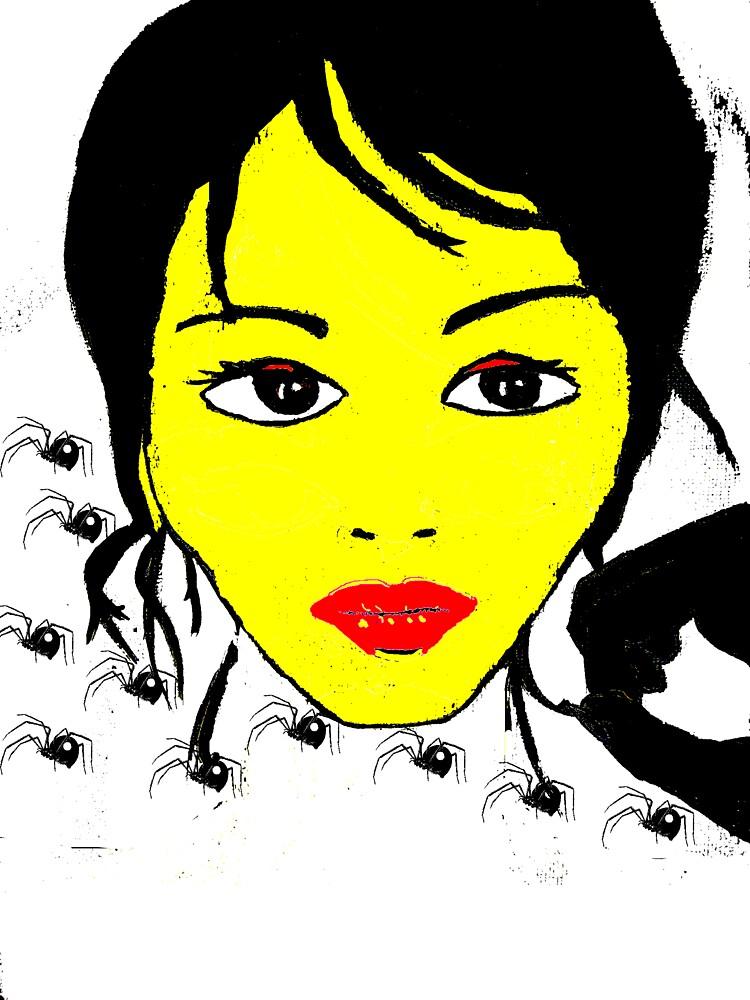 Self portrait by catthirteen