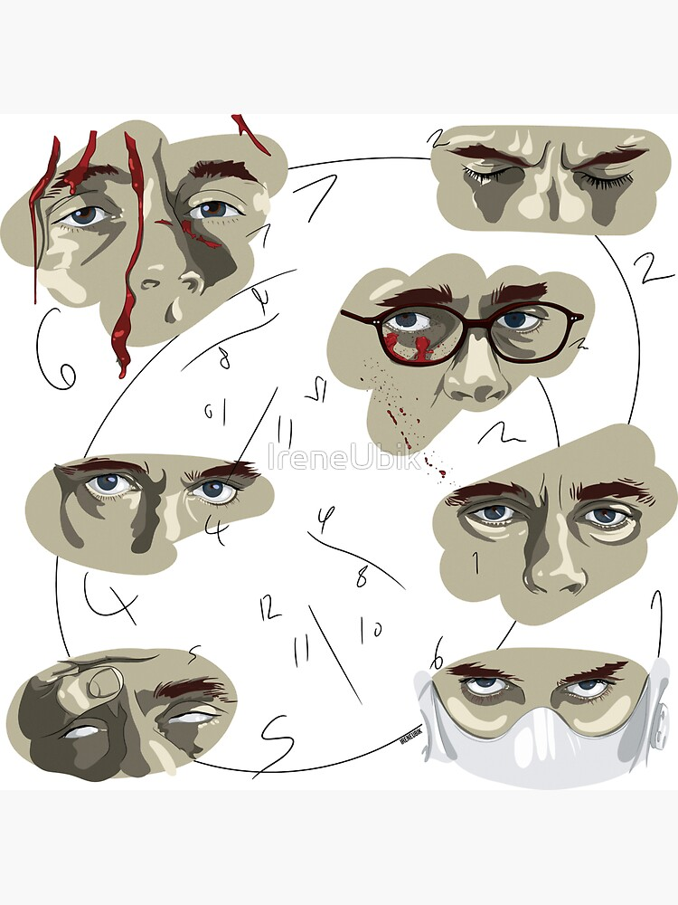 Will Graham's Eyes Hannibal Pattern by ladykraken