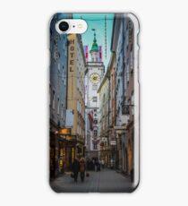 Christmas Shopping in Salzburg, Austria iPhone Case/Skin