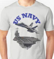 F/A-18 Hornet and the USS Harry S. Truman Unisex T-Shirt