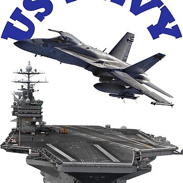 F/A-18 Hornet and the USS Harry S. Truman by flyoff