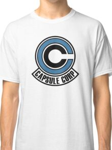 capsule corp blue black Classic T-Shirt