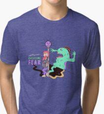 Overcome Fear Tri-blend T-Shirt