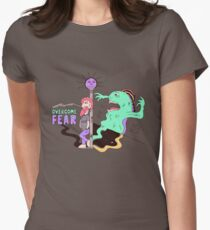 Overcome Fear Womens Fitted T-Shirt
