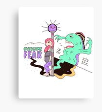Overcome Fear Canvas Print