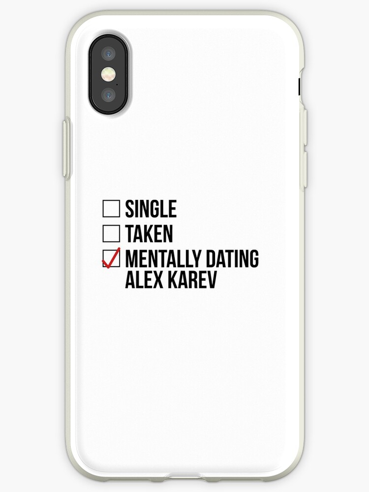 Vinilos y fundas para iPhone «MENTALMENTE DATING ALEX KAREV» de ...