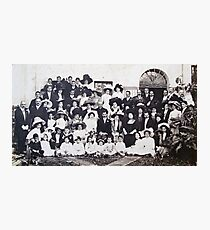 Wedding Photo 1911 Photographic Print