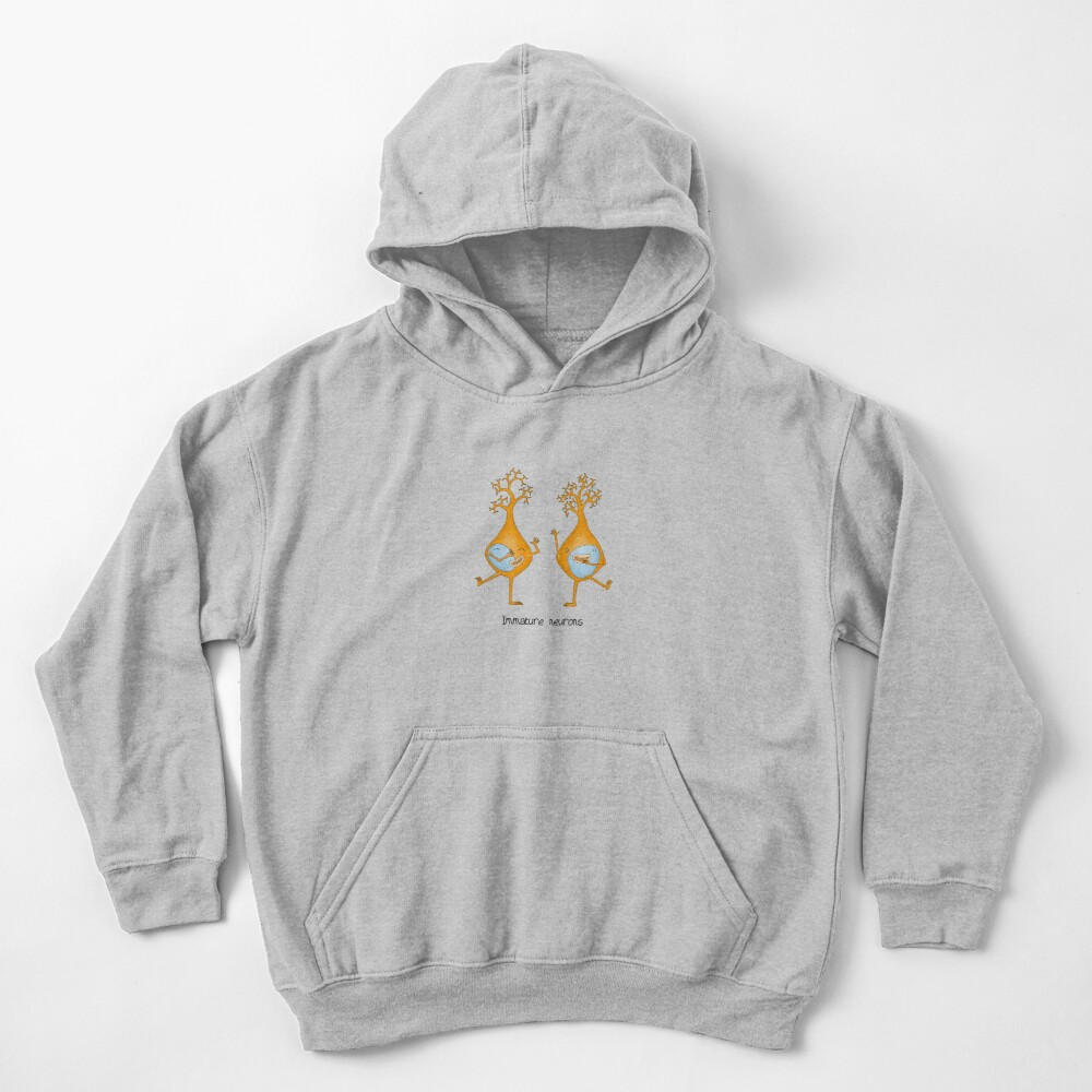 Immature Neurons Kids Pullover Hoodie