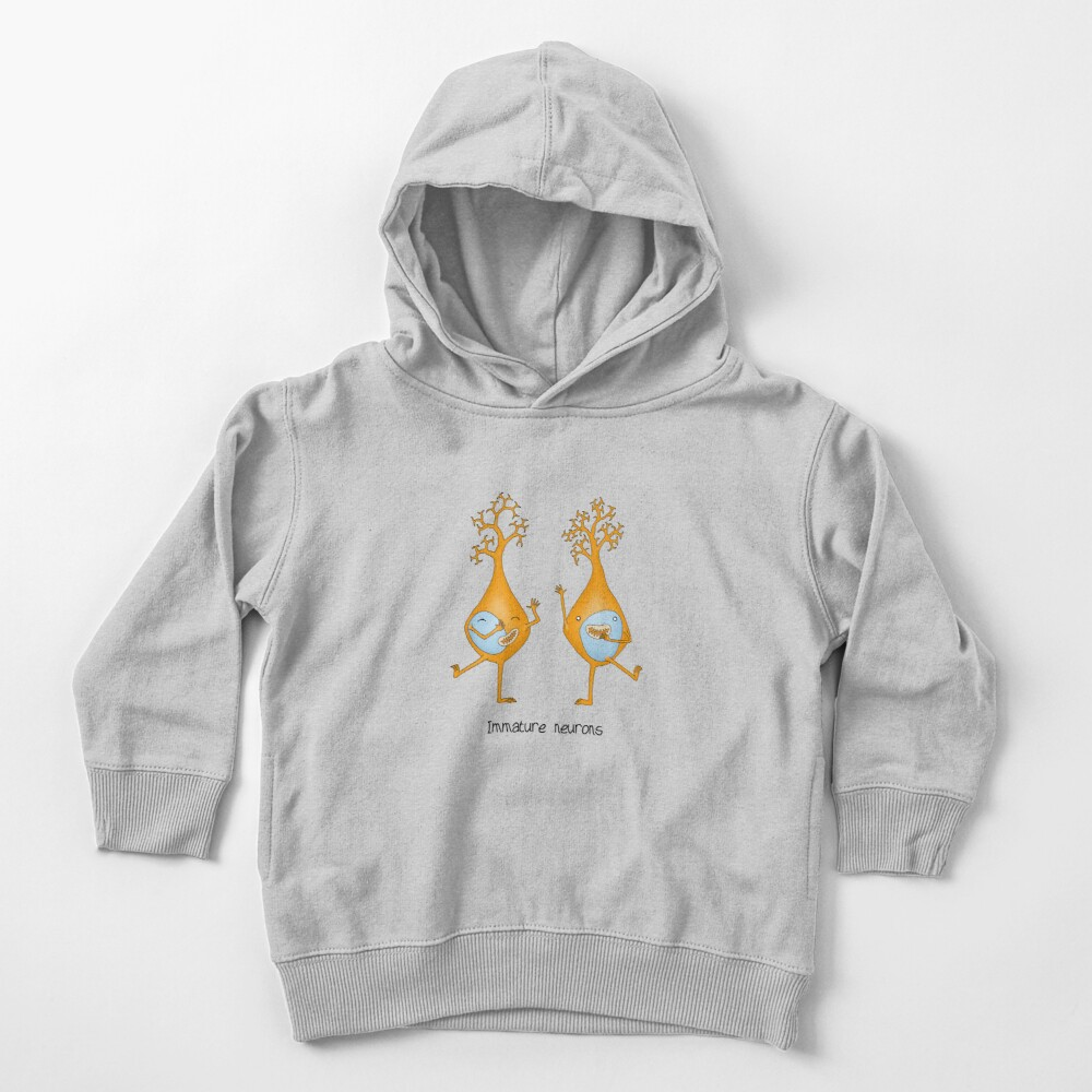 Immature Neurons Toddler Pullover Hoodie