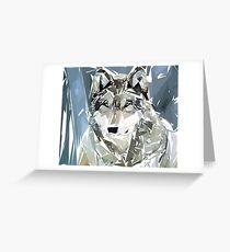 Loup Greeting Card