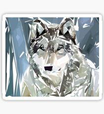 Loup Sticker