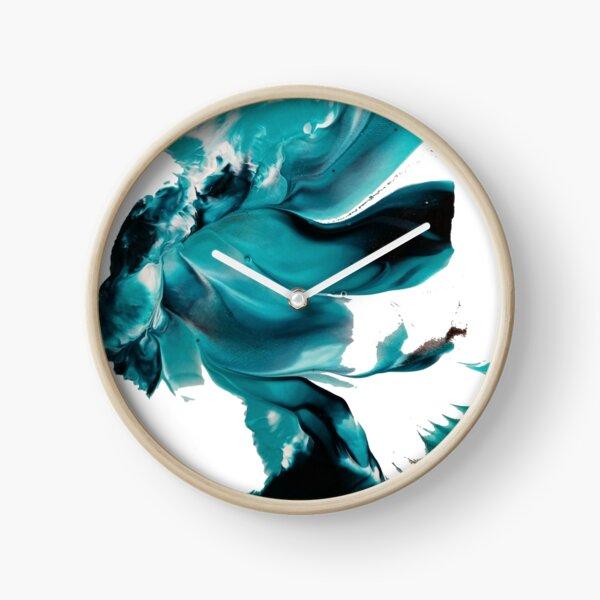 Turquoise Daydream Clock