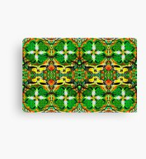 Shamrock Stealie Canvas Print