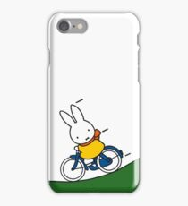 Miffy Rides a Bike by Dick Bruna iPhone Case/Skin