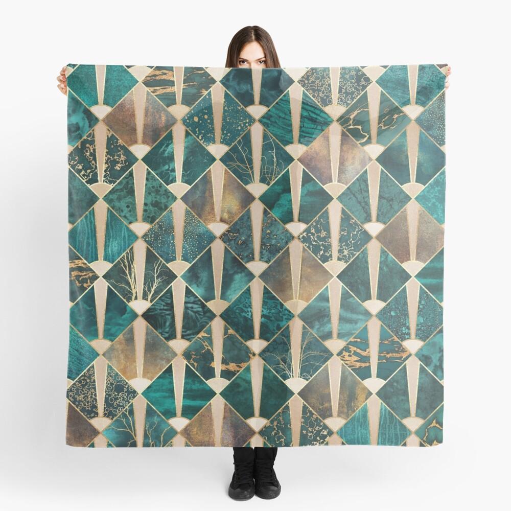 Art Deco Tiles - Ocean Scarf