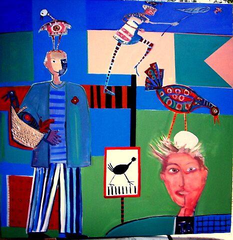 Bird lovers square by liz strauss