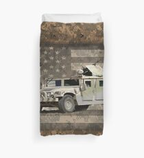 Humvee Military Vehicle Duvet Cover