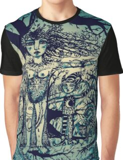 Blue Forest Graphic T-Shirt