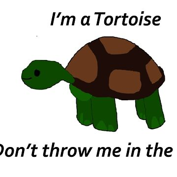 I'm a Tortoise, don't throw me in the ocean  by Awendela