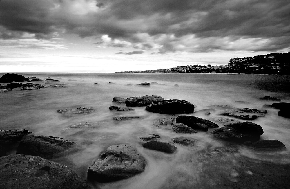 Clovelly seascape by Alex Lau