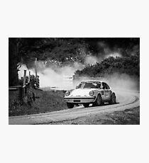 Porsche Rally Car Photographic Print