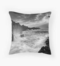 Bombo Beach Throw Pillow