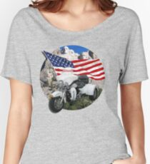Patriotic Trike Women's Relaxed Fit T-Shirt