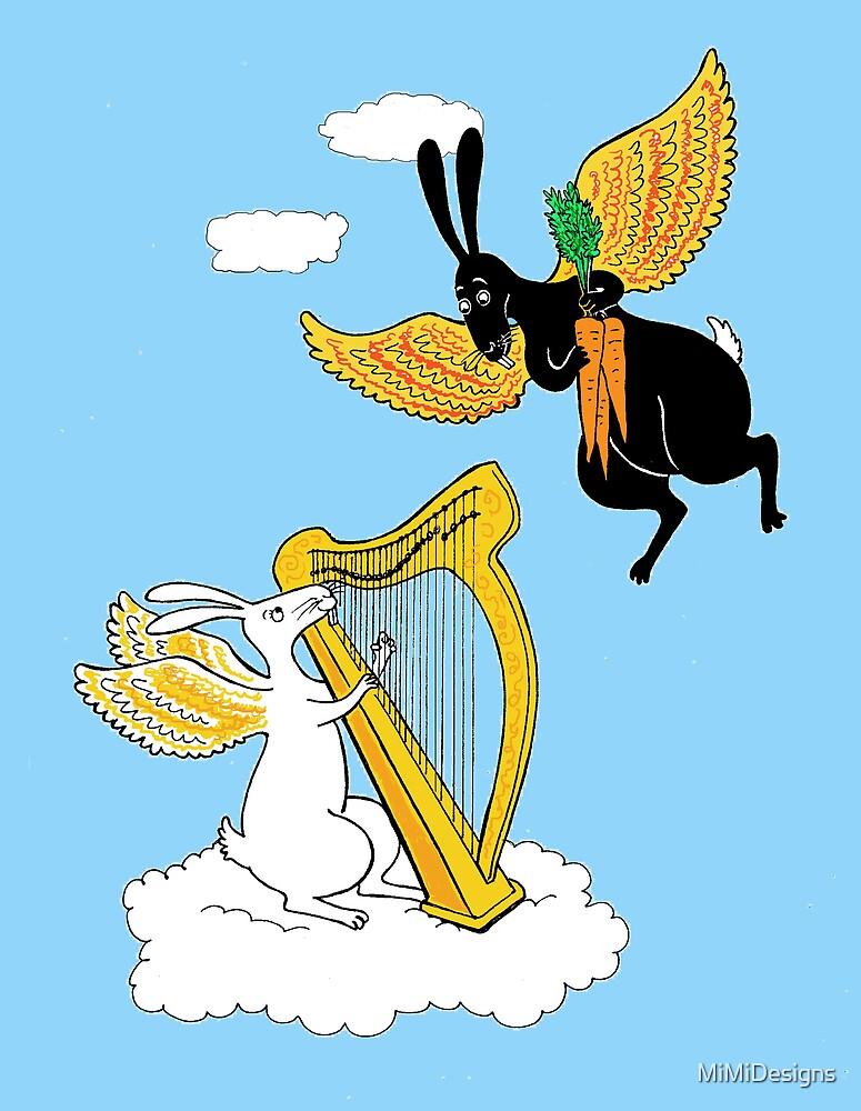 Rabbit Heaven by MiMiDesigns