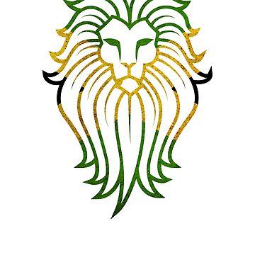 Jamaican Lion by ItsWickedGood