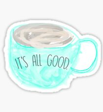 Coffee watercolor sticker Sticker