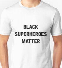 Black Superheroes Matter T-Shirt