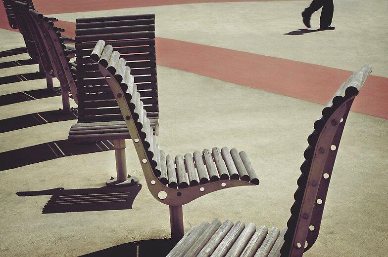 rhythm legs and the chair ensemble by meanderthal