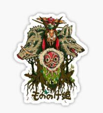 Mononoke Sticker