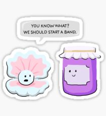 Pearl And Jam Start A Band Sticker