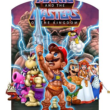 Mario and the Masters of the Kingdom by jimalgar