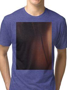 brown and black Tri-blend T-Shirt