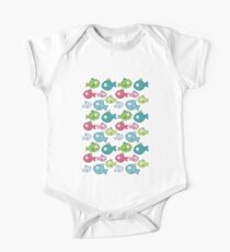 Little fishes One Piece - Short Sleeve