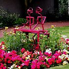 A garden in Strathaven, Scotland by ElsT